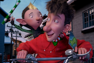Arthur Christmas and Bryony in Arthur Christmas (2011)