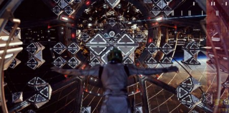 Battle Room thrills in Ender's Game (2013)