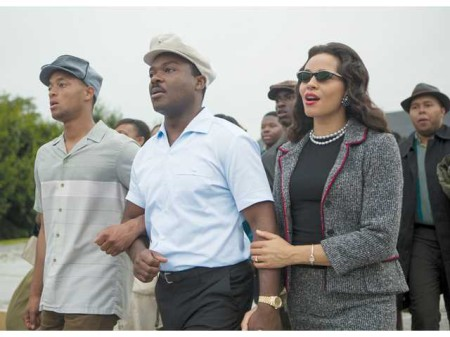 Martin Luther and Coretta Scott King in Selma