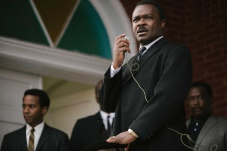 "Martin Luther King Jr. (David Oyelowo) calls for ""massive demonstrations"" against racism"